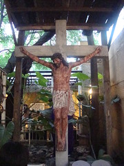Jesus Nailed in the Cross located in ST. PADRE PIO CHURCH (engr.MARVIN) Tags: marvin libis holyweek stationofthecross intal miraclechurch marvinintal padrepiochurch libischurch stpadrepiochurchinlibis