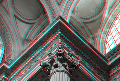 Pantheon Paris 3D (wim hoppenbrouwers) Tags: paris 3d pantheon anaglyph stereo parijs redcyan