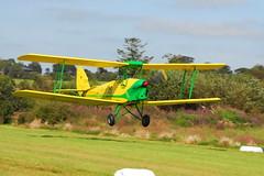 EI-AHI DH.82A (eigjb) Tags: ireland light irish plane airplane aircraft aviation tiger moth society wexford spotting flyin biplane dehavilland ilas dh82a 080912 taghmon eiahi