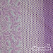 Vintage sheet - purple spot and floral