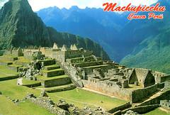 Peru - Machu Picchu (Postcard 2)