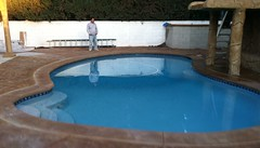 "Newly built pool w/ white plaster • <a style=""font-size:0.8em;"" href=""http://www.flickr.com/photos/71548009@N02/7977029772/"" target=""_blank"">View on Flickr</a>"