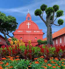 Christ Church Malaysia-047 (``Ringo Lee (^_^)) Tags: park travel red church architecture wow wonderful cool fantastic scenery colorful quality awesome super malaysia winner showcase perfectshot goldenart flickrmasterpieces bestcaptures flicksdiscovery cristchrist