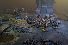 Chaos Cultists (jontlaw) Tags: chaos space 40k warhammer marines atmospheric 40000 wargaming cultists helbrute