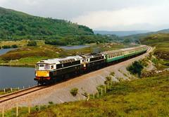 26007-26001 at loch luichart (47604) Tags: scotland 26007 26001 class26 lochluichart kyleline d5300 d5301