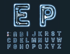 Xray PSD Fonts (luuqas86) Tags: light hospital typography high full doctor impact xray bones font type layer psd medic fonts layered