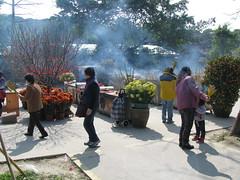 Smoke from the incense (oldandsolo) Tags: china hk hongkong buddhism bigbuddha incense lantauisland polinmonastery chinesetemple chineseculture ngongping tiantanbuddha ngongpingbuddha buddhistfaith chinesereligiousshrine largestseatedbronzebuddha
