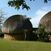 Casas tipicas da Suazilandia