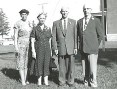 Clara Winter, Margaret Bodensteiner, Joseph Bodensteiner, Henry Bodensteiner