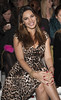 Kelly Brook London Fashion Week Spring/Summer 2013 - Mark Fast - Front Row London, England