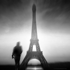 Paris - Mon Amour (h.koppdelaney) Tags: life woman paris art digital photoshop fun symbol picture philosophy eifel eros amour mind metaphor psyche symbolism psychology archetype koppdelaney