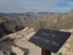 End of the Line...Blackett Ridge Trail (ToddStapleton) Tags: arizona southwest catalina desert tucson catalinamountains sabinocanyon santacatalinamountains santacatalina blackettsridge blackettsridgetrail toddstapleton sabinocanyonnationalrecreationarea
