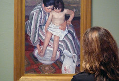 Cassatt, The Child's Bath with Beth