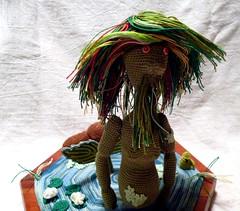 Vodnik  (2) (McFiberNutt) Tags: thread miniature crochet folklore amigurumi
