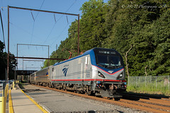 Whose Railroad Is This Anyway???? (Darryl Rule's Photography) Tags: acs64 amtrak catenary citiessprinter commuter inbound marc pa passenger passengertrain pennsylvania reading readingrailroad septa siemens train trains westtrentonline westbound woodbourne