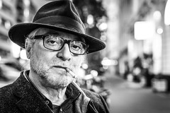 """#32 """"What the hell are you doing on this planet?"""" (Hendrik Lohmann) Tags: street streetphotography strassenfotografie streetportrait strase strasenportait df dsseldorf people portrait menschen stories series"""