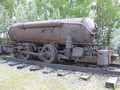 Tanker car (jamica1) Tags: calgary heritage park oil petroleum alberta canada rail tanker