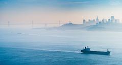 The city by the bay (A Camera Story) Tags: sanfrancisco marinheadlands marincounty pacificocean baybridge cityscape bayarea sonydslta99 sony70300mmf4556g telephoto