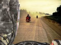 Mask_Alcan_Dust (Sy_In_Indy) Tags: composite motorcycletouring yukon alcan alaskahighway