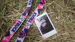 Truck Festival 2016 (rjmiller1807) Tags: july steventon oxfordshire truckfestival truck polaroid lanyard festival uk wine picture truck2016 2016 girls grass flatlay