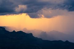 Rim Overlook Sunset (lukasavige) Tags: aizona aspenbrewingcompany coloradoriver columbia grandcanyon muck or outdoorresearch rain beer boat boots canyon hike hiking hot kayak raft rafting rapid river sun thunderstorm
