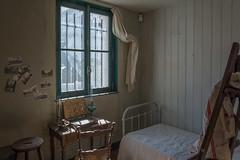 Maurice Utrillo's bedroom (Dan Guimberteau) Tags: paris art impressionist montmartre museum nikond7100 painter