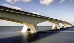 Zeelandbrug (apersyannick) Tags: zeeland colijnsplaat long exposure holland netherlands 5km cars car trails bridge water sea clouds