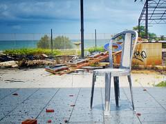 Il tempo (donatolaudadio) Tags: tempo hotel abbandono sedia distruzione mare sonydsch300