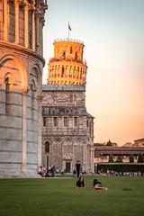 Der schiefe Turm von Pisa (Ralph Punkenhofer) Tags: leaning pisa schiefer toskana tower turm unfall italein italien italy orang light