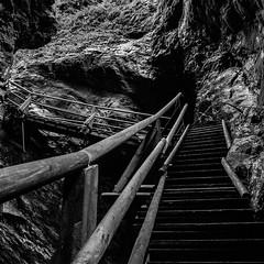 R6234223_medium_1200 (ThomasKrannich) Tags: austria carinthia raggaschlucht blackandwhite canyon hiking monochrome trail nobody outdoor