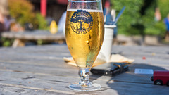 Summer refreshment (32/52) (Reckless Times) Tags: cider pint summer sun hot light golden refreshing refreshment pub new forest newforest