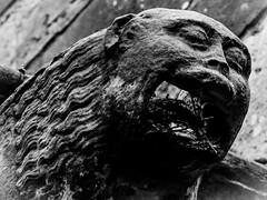 Congested Gargoyle at Rosslyn Chapel (Rotundus III) Tags: gargoyle rosslyn chapel da vinci danbrown scotland heritage historic canon 6d canon6d 28300 28300mm canonlseries davincicode