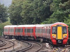 A pair of Thameslink Class 387 'Electrostar' units depart Beckenham Junction, London (Steve Hobson) Tags: thameslink govia railway beckenham junction london gtr class 387 electrostar emu