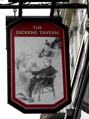 Dickens Tavern Pub, Paddington (Normann) Tags: london pubsign dickens