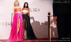 .miss chelsea. vita skirt & top - soon @ uber (-Coral-) Tags: sl secondlife second life mesh avatar fashion uber womens misschelsea
