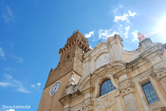 Pitigliano Cathedral (Thirza78) Tags: pitigliano italy itali toscane church kerk kathedraal stadstoren barokgebouwen barok piazzasangregoriovii cathedral sun bluesky tuscany jol
