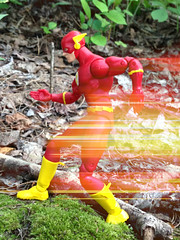 The Flash (foxkit18) Tags: dc icons flash effect photo speed picmonkey toy action figure