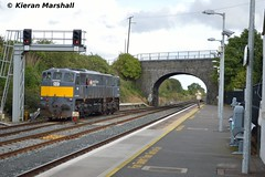 084 at Kildare, 22/9/16 (hurricanemk1c) Tags: railways railway train trains irish rail irishrail iarnród éireann iarnródéireann kildare 2016 generalmotors gm emd 071 dfds detforenededampskibsselskab 084 1105ballinawaterford