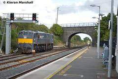 084 at Kildare, 22/9/16 (hurricanemk1c) Tags: railways railway train trains irish rail irishrail iarnrd ireann iarnrdireann kildare 2016 generalmotors gm emd 071 dfds detforenededampskibsselskab 084 1105ballinawaterford