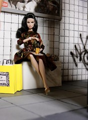 Plasticwood Metro Subway - Eugenia Perrin Frost (Real Dolls of Plastic Wood) Tags: fashion royalty eugenia perrin frost action figure subway train toys diorama 16 scale barbie 12 inch dolls