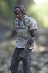 Out for a walk (wadetaylor) Tags: 3a threea custom threeacustom ashleywood zomb zombie adventurekartel onesixth tattoo