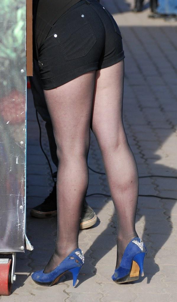 фото: Blue heels