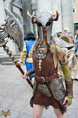 Dragoncon 2016 Cosplay (V Threepio) Tags: dragoncon2016 cosplay costume outfit posing modeling photography cosplayer dressup photoshoot sonya7r 2870mm sonyalpha unedited unretouched straightfromcamera fantasy scifi comiccon atlanta convention comics geekculture dc2016 girl female skyrim elderscrolls