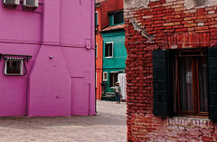lost in burano`s colours (margycrane) Tags: burano venice wenecja italy colourfulbuildings