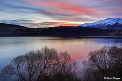0S1A3029enthuse (Steve Daggar) Tags: newzealand sunset lake lakehayes winter mountains snowcappedmountains