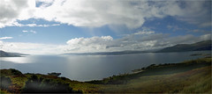A' coimhead dhachaigh bho tr-mr (Senaid) Tags: sleat skye panorama photostitch glenelg mainland highlands scottish scotland nikon d600 dubhard