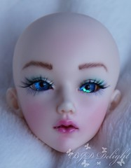 Selene - Human Aehael (SteffiDollies) Tags: bjd msd face up faceup blue eyes souldoll aehael hum natural resin