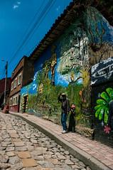 Bogot street art (Angelo Petrozza) Tags: street art bogot colombia colours colori sud america pentax angelopetrozza murales paint
