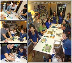 Iniciacin al mosaico veneciano y trencadis (fernanda jaton) Tags: buenosaires mirrors mosaico escuela fj courses azulejos classes mosaictile contemporneo clases trencadis mosaicoveneciano venecitas fernandajaton ceramicatile