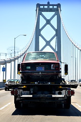 DSC_0947 (rat_fink) Tags: red volvo baybridge 80 tow coupe 142 flatbed 140 142s